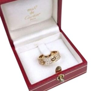 Cartier Paved love ring